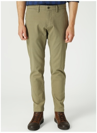 Dockers Dockers Smart Supreme Flex Chino Tapered - Dobby Pantolon Yeşil